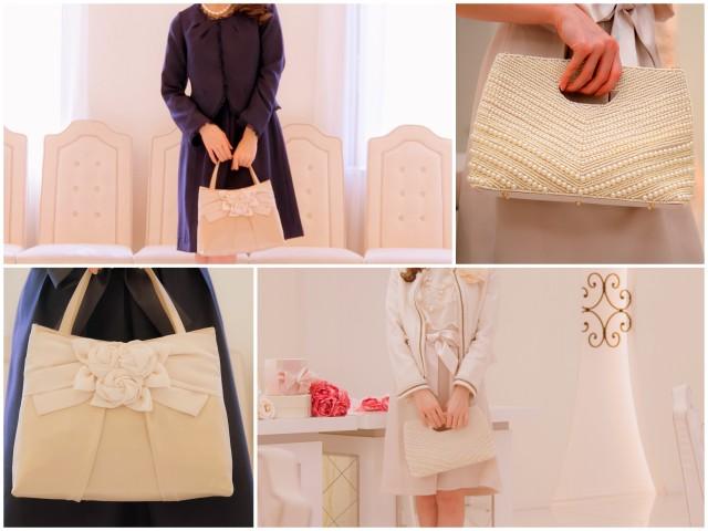 結婚式でも入学式・卒業式でも使えるバッグ