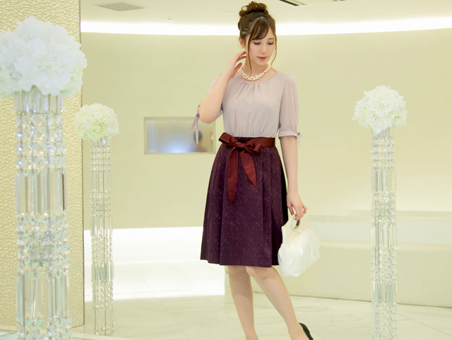 結婚式の服装|30代女子から選ばれるワンピース13選~購入者レビュー集~