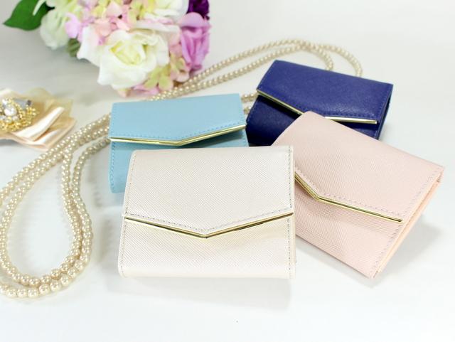 結婚式のバッグにはミニ財布の使用が絶対おすすめ!
