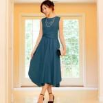 結婚式やお呼ばれに最適な膝下ドレスの選び方と人気ロングドレス10選!