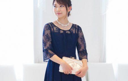 レースのドレスなら袖ありでもスマートにキマる! 結婚式やパーティーで着たいお呼ばれワンピース