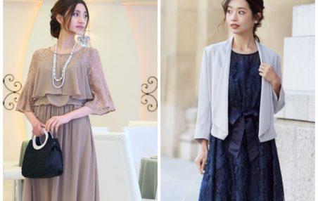大きいサイズのドレスは、五分袖以上のドレスを選ぶか、カーディガンやジャケットを羽織る!